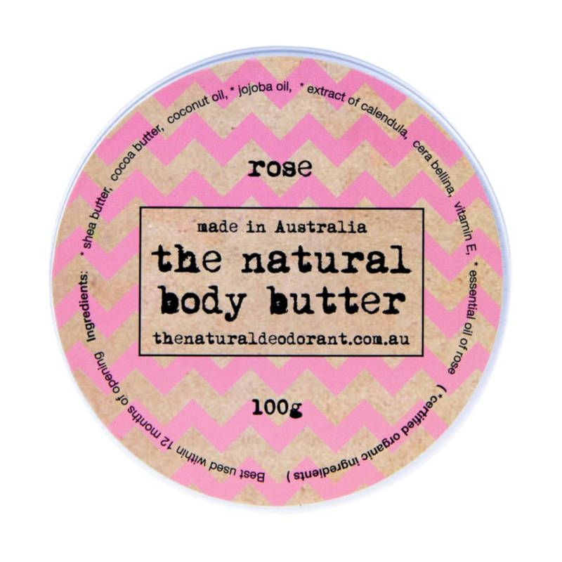 Natural body butter - Rose