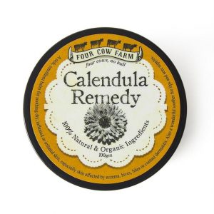 Calendula remedy balm four cow farm