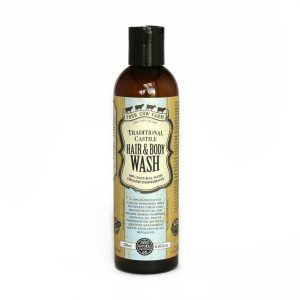 Castile soap hair and body wash