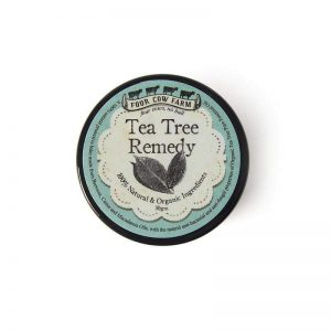 Tea Tree balm remedy four cow farm