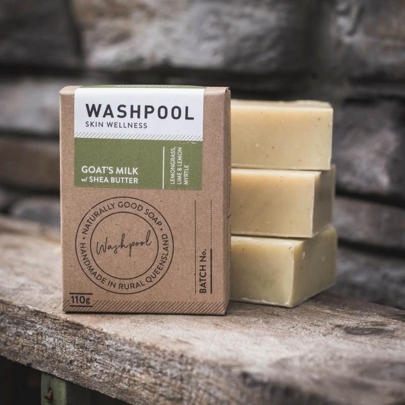 Goat's milk soap lemongrass