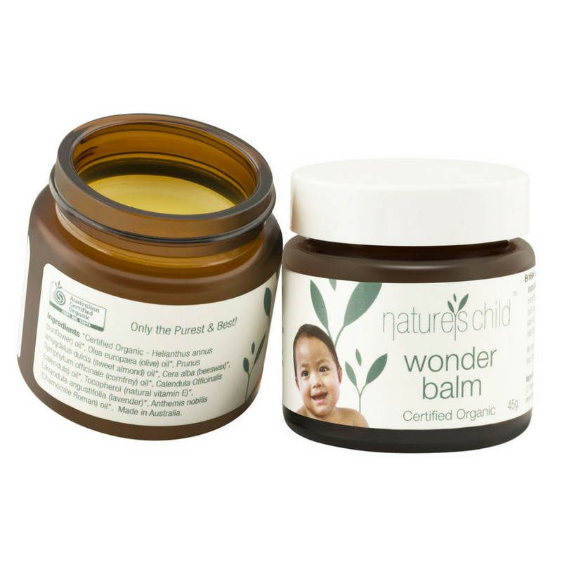 Natures Child Wonderbalm Open