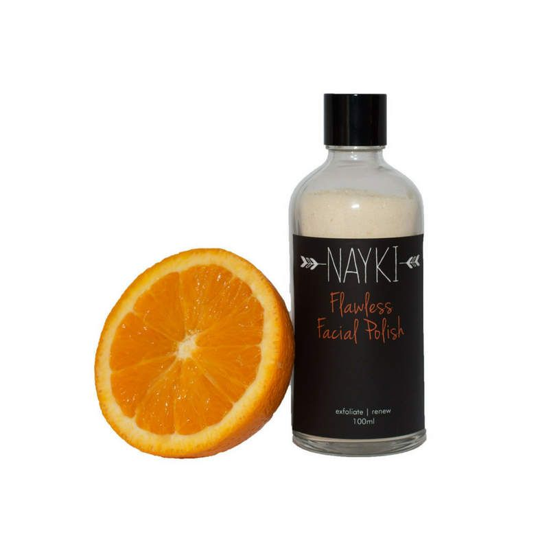Nayki facial polish. Face scrub