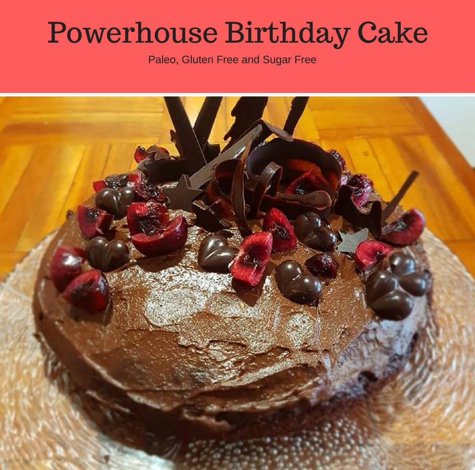 Powerhouse Cacao Birthday Cake Honestly Natural