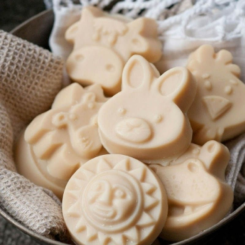 Children's soap. Washpool goats milk soap. Newborn, toddler, sensitive skin.