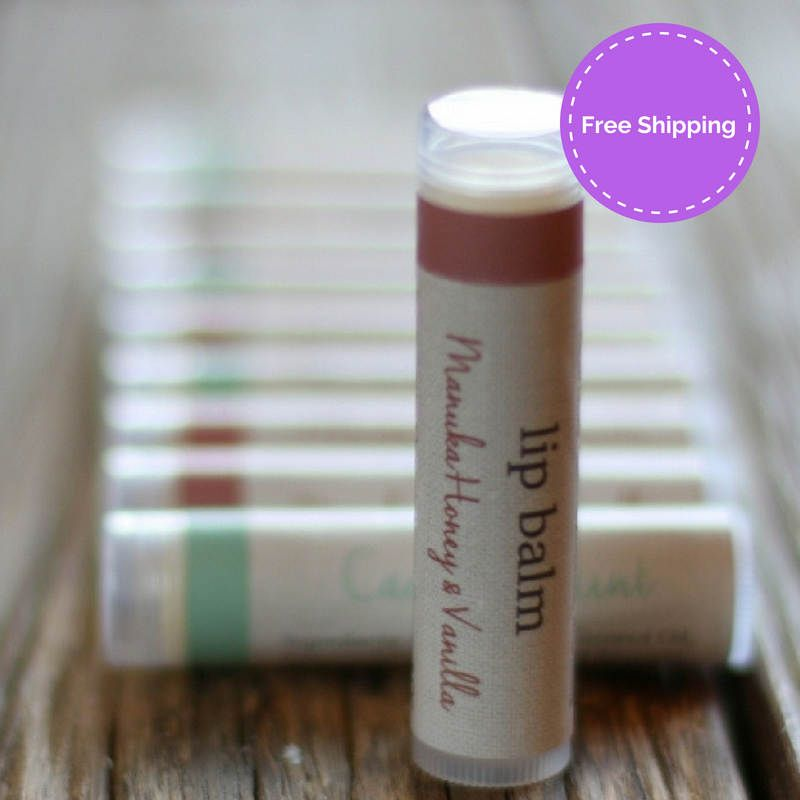 Washpool stick lip balm vanilla and manuka honey