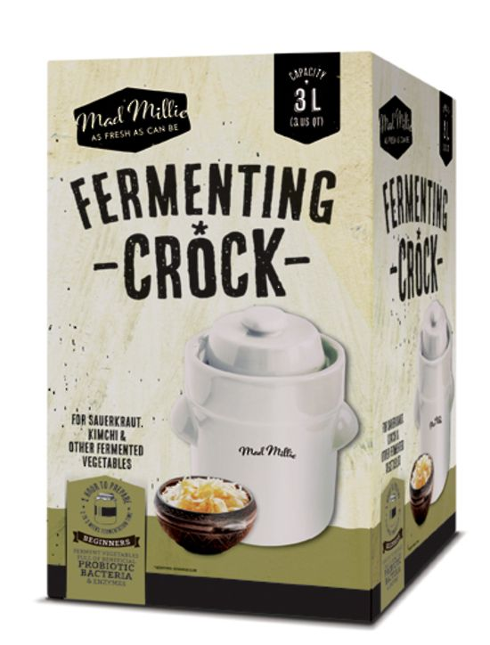 Mad Millie fermenting crock
