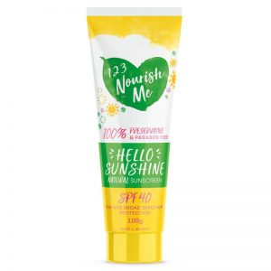 123 Nourish Me sunscreen