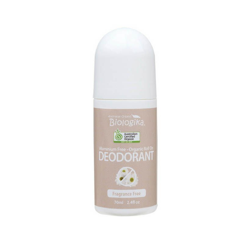 Biologika Organic roll on Deodorant Fragrance Free
