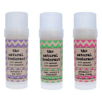 Natural deodorant sticks