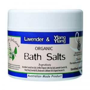 Organic Selections Bath Salts - Lavender