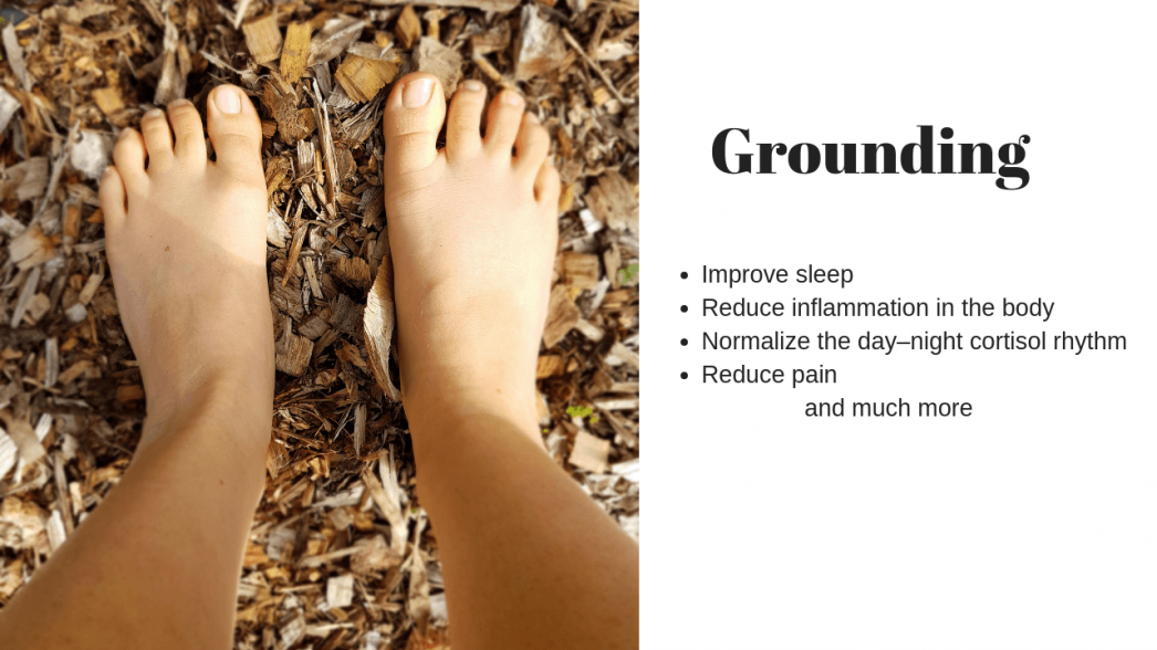 Why we should all be grounding earthing daily