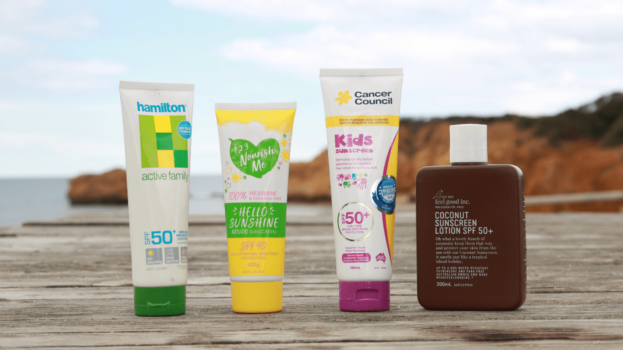 Natural Sunscreens Options