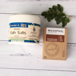 Organic Bath Salts & CocoNut Soap