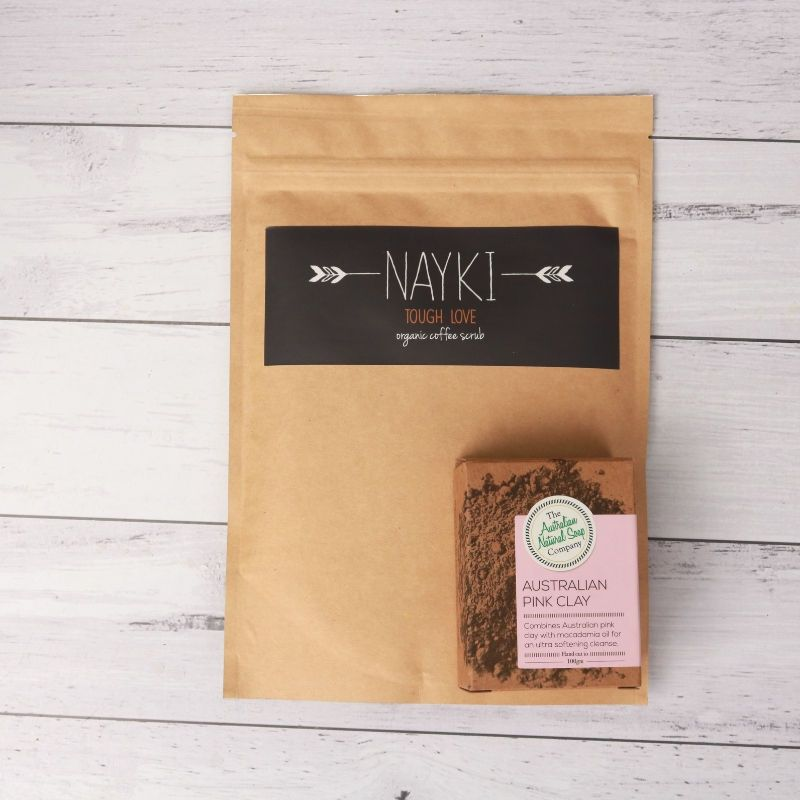 Nayki Tough Love Body Scrub & Pink Clay Soap