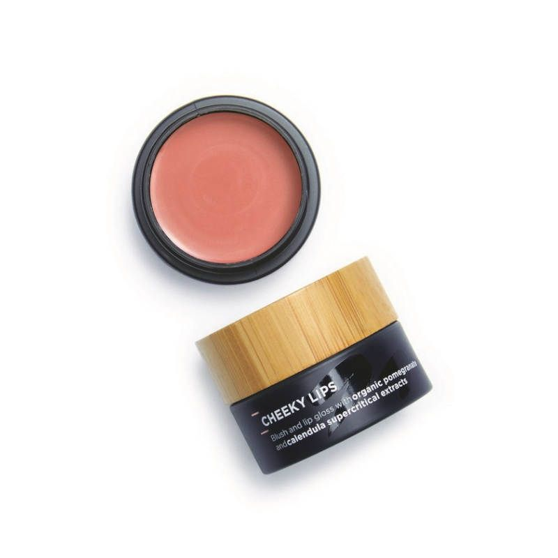 The Organic Skin Co-Cheecky Lip colour and blush Petal Power