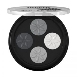 Natural Lavera Beautiful MineralGrey Eyeshadow Quattro Smoky
