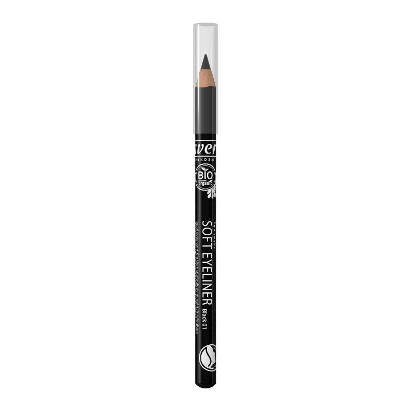 Organic Lavera Soft Eye Liner Black