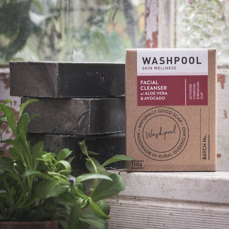 Washpool - (Charcoal & Brazilian Clay) Facial Cleanser
