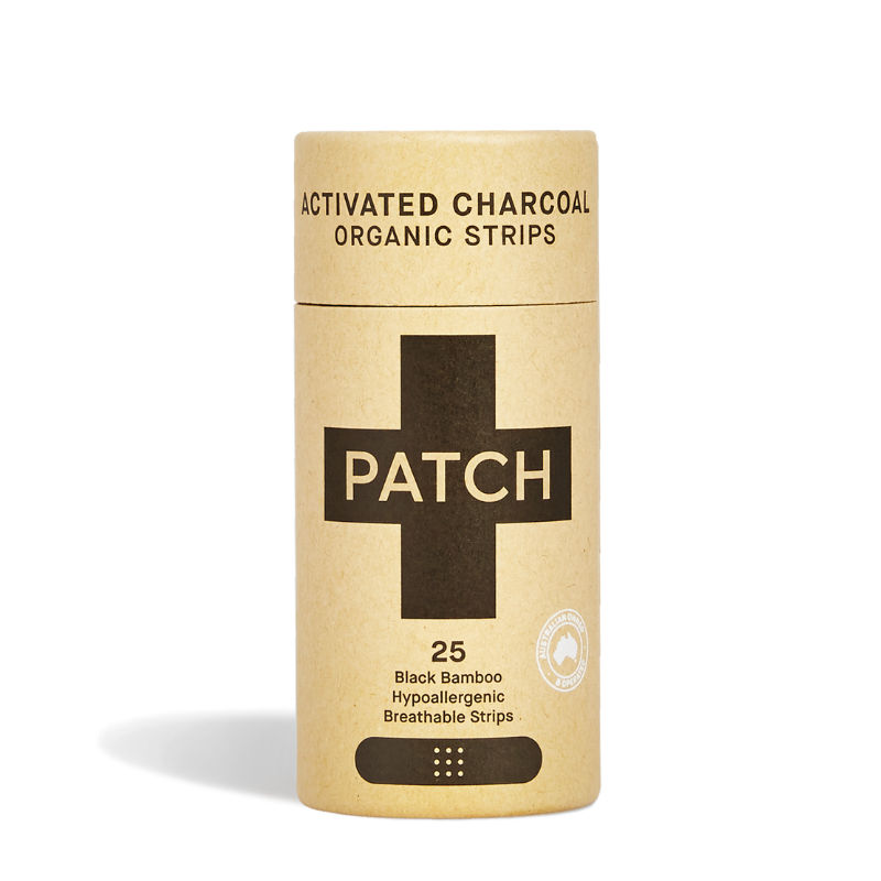 Patch- Activated Charcoal Adhesive Strips 25 Tube