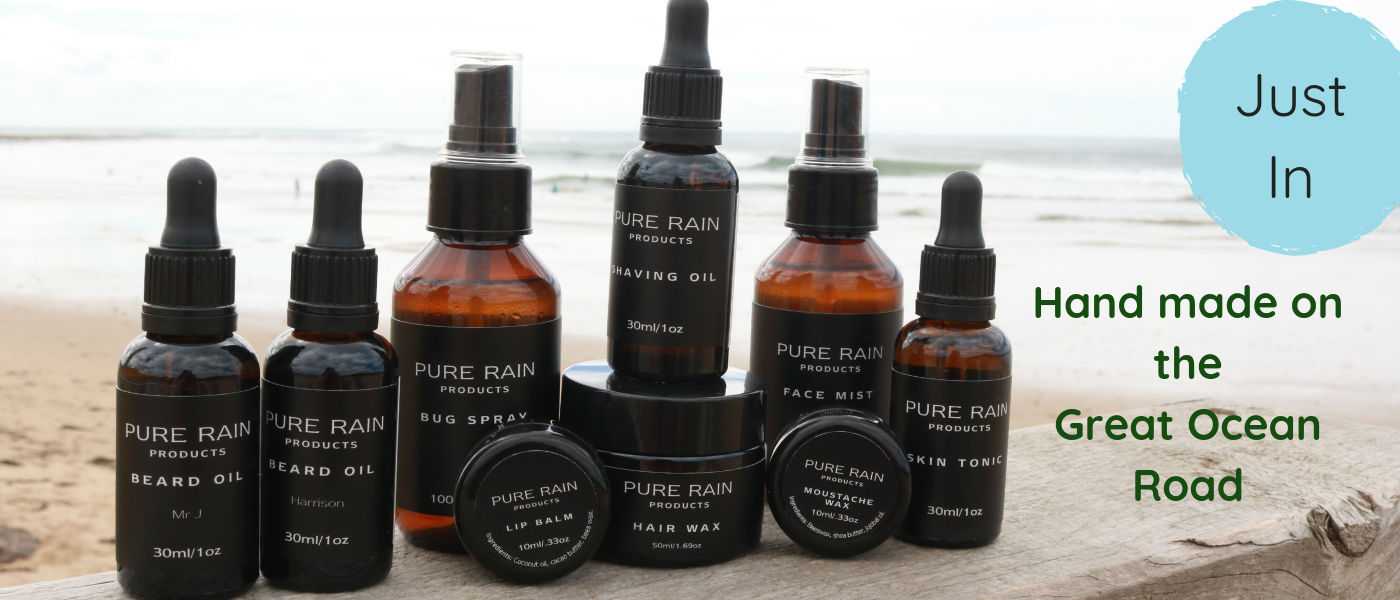Pure Rain products all