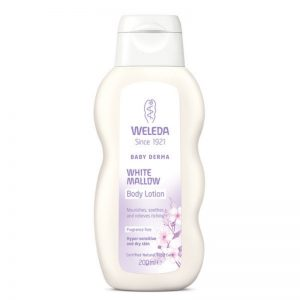 Weleda-Baby-Derma-White Mallow Body Lotion Frag Free 200ml