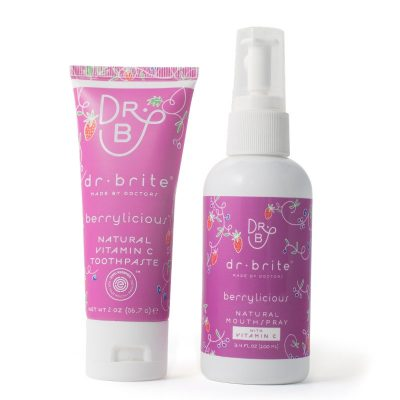 Dr Brite – Kids Travel Toothpaste & Mouthwash