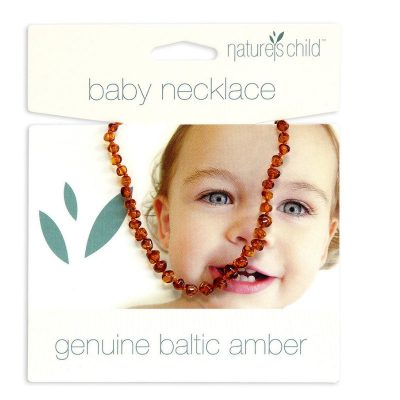 Natures Child -Baltic Amber Necklace (Cognac)