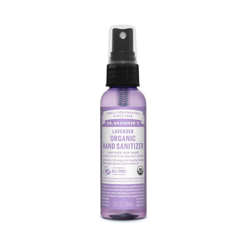 Dr Bronners Organic Lavender Hand Sanitizer