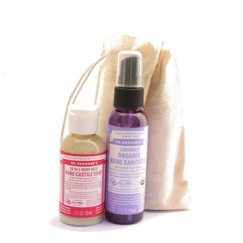 Natural Hand sanitiser set