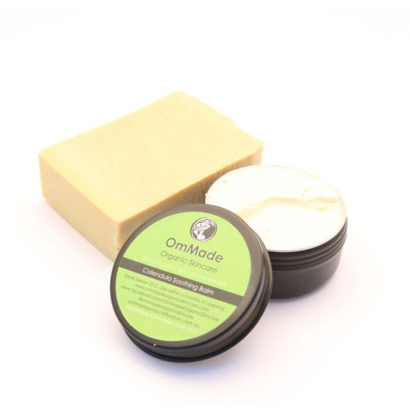 Natural eczema kit Vegan and calendula balm