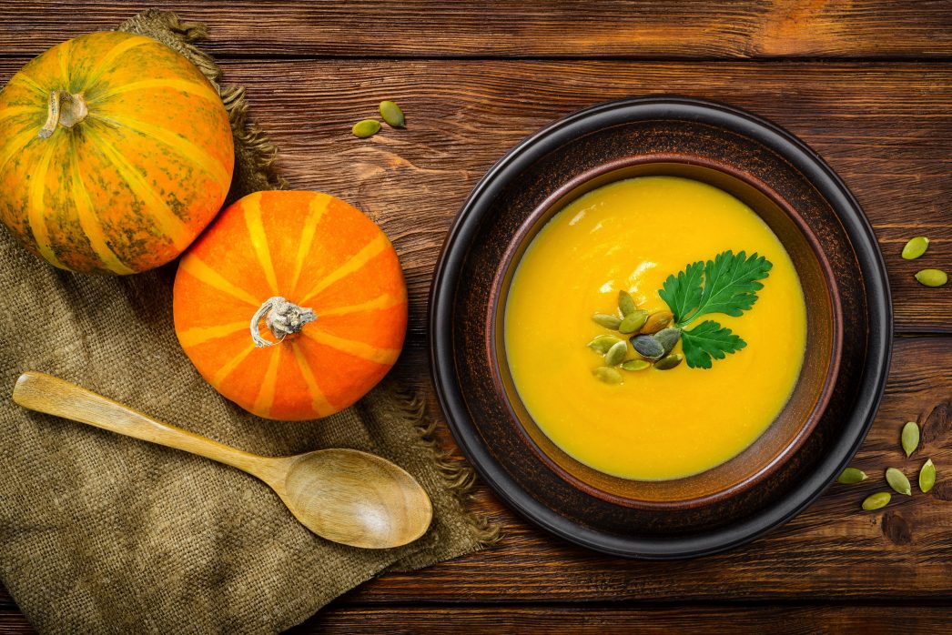 Super Simple Clean Pumpkin Soup Recipe