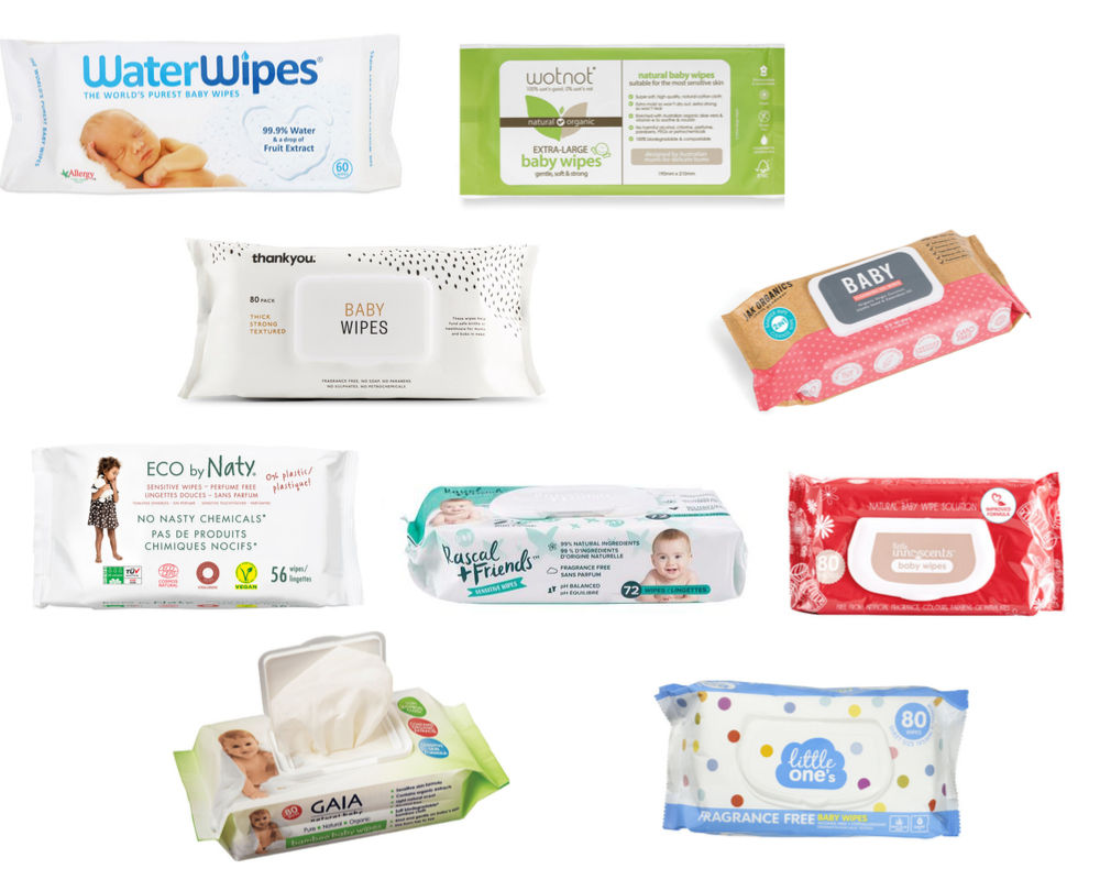 Natural Baby wipes which is the safest