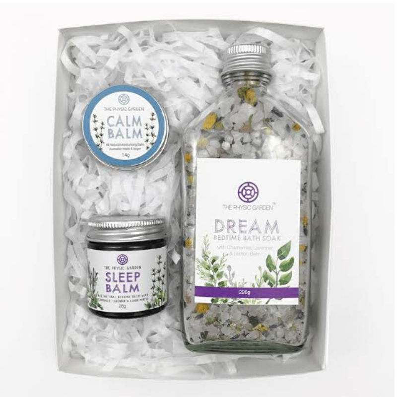 Dream bedtime gift set They Physic Garden