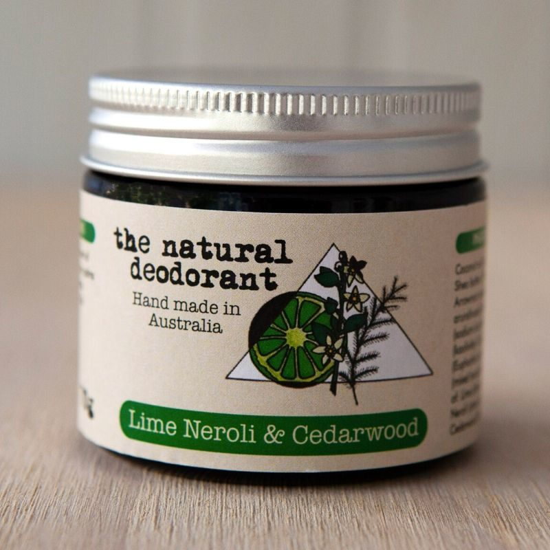Jar the natural deodorant Lime Neroli and Cedarwood