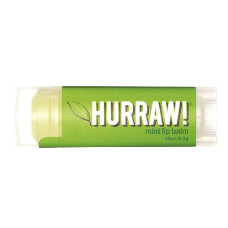 Mint lip balm Hurraw