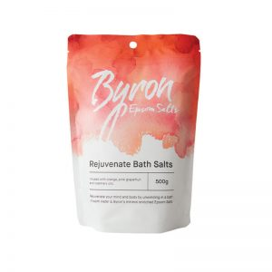 Rejuvenate bath salts Byron Body