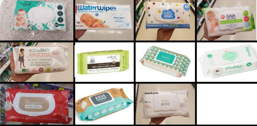 Choosing the cleanest baby wipes possible