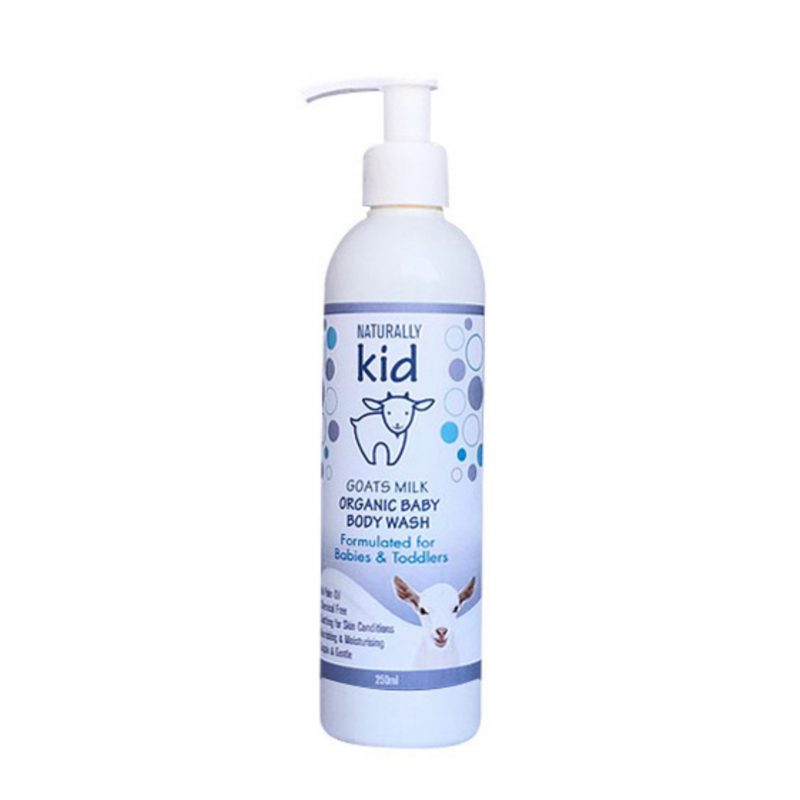 body wash baby and toddler naturally goat