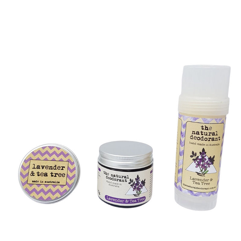 Lavender deodorant variations The Natural Deodorant
