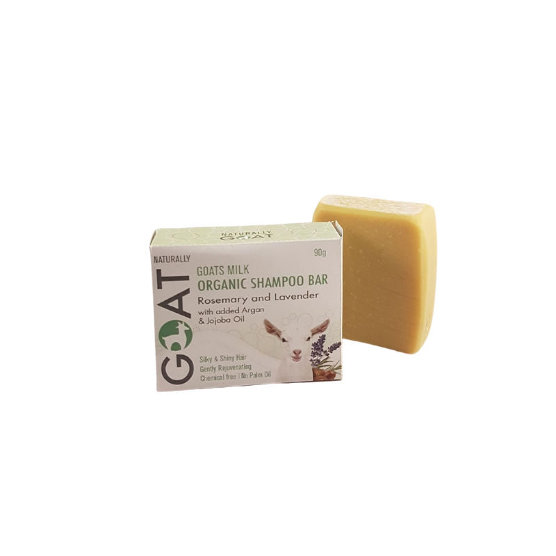 Shampoo Bar Rosemary and Lavender Natually Goat