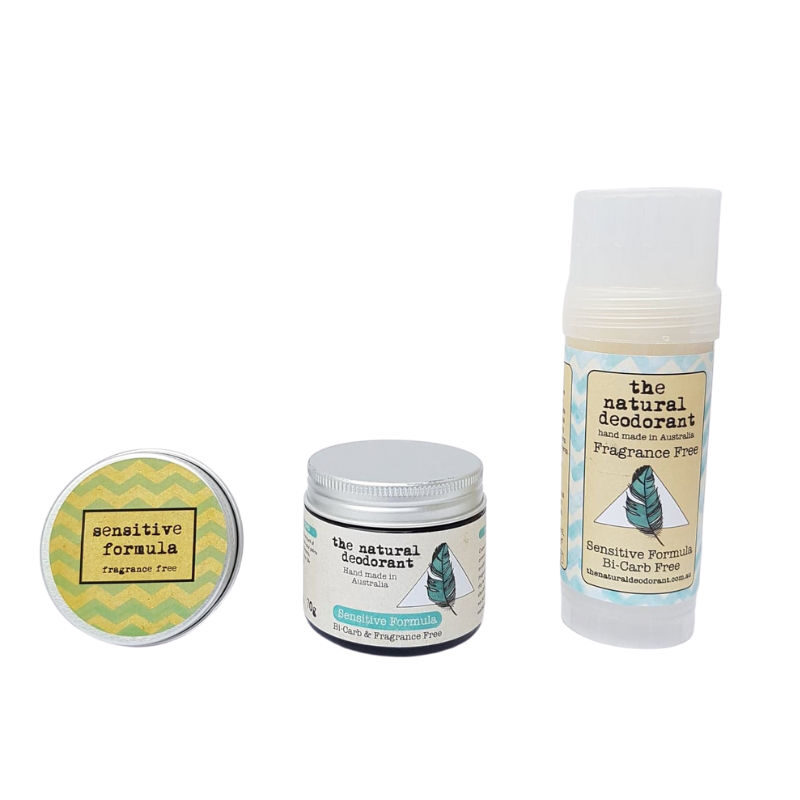 sensitive bicarb free deodorant The natural Deodorant